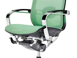 office chair cool ergonomic mesh office chair green color chrome