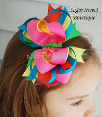 wholesale hairbows wholesale baby girl grosgrain ribbon bows hair bows 1072