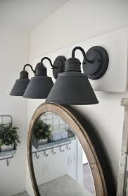 bathroom vanity lighting design lighting design ideas farmhouse bathroom lighting farm style