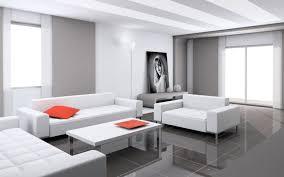 mid century modern table lamps minimalist living room beige fabric