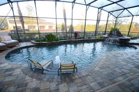 lanai pictures 20 low maintenance landscaping ideas for enclosed pool areas all