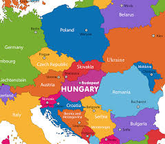 Blank European Map by Hungary Map Political Hungary Map Outline Blank