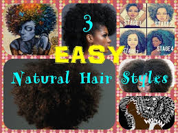 hairstyles for medium length hair for african american 3 easy natural hair styles short hair medium length natural