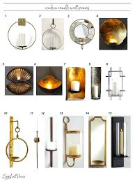 Wall Candle Holders Sconces Sconce Large Metal Wall Candle Holder Large Metal Wall Candle