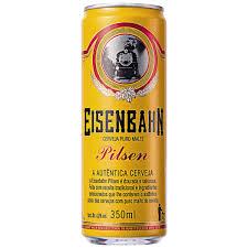 Famosos Cerveja EISENBAHN Pilsen Lata 350ml &JD35