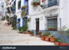 spanish mediterranean homes mediterranean homes andalusian style costa blanca stock photo