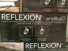Costco Led Light Fixture Costco 707367 Reflexion 5 Light Led Track Fixture Spec U2013 Costcochaser