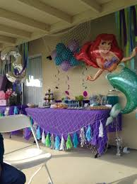 Table Decoration Ideas For Birthday Party by The Little Mermaid Candy Table Cute Toddle Birthday Party Diy