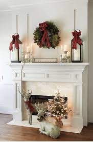 living room living room christmas decorations fireplace mantel