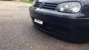 25th anniversary plates vw golf gti 25th anniversary mk4 smoothed bumpstrip show and go