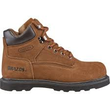 womens work boots brazos s dane v steel toe work boots academy