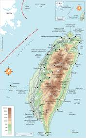 Map Of China And Taiwan by Rg B Format