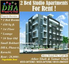 450 square feet 450 square feet apartment for rent in dha phase 6 karachi aarz pk
