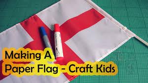 cool making a paper flag make a flag craft kids craftivi
