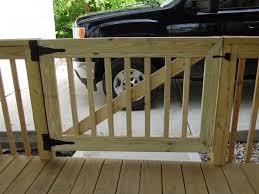 wooden porch gate designs