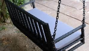 wicker swing chair helena source net