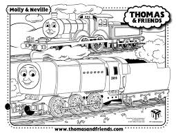 molly neville thomas tank train coloring pages thomas