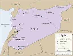 map of syria congressional letter defund us operations in syria san