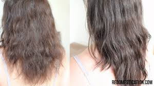 wavy hair after three months keratin smoothing treatment before and after youtube