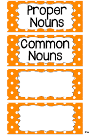 proper nouns worksheets for all and