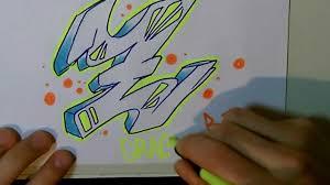 imagenes para dibujar letras graffitis dibujar letras graffiti letra z tutorial youtube