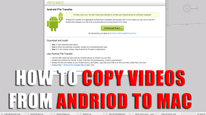 android file transfer dmg how to transfer from android to mac