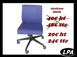 chaise de bureau steelcase chaise visiteur steelcase think occasion chaise mobilier de