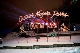 christmas lights in niagara falls ontario winter festival of lights niagara falls 2014 wfol