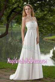 graduation dresses for high school strapless beaded white graduation dress for high school