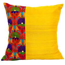 Sofa Pillows by Interior Aqua And Orange Cushions Couch Pillows Brown Sofa