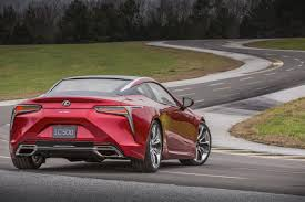 red lexus 2018 2018 lexus lc 500 north america u00272017