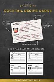 printable shot recipes freebie cocktail recipe cards recipe cards cocktail recipes and