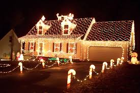 christmas decorated home cool home design top in christmas