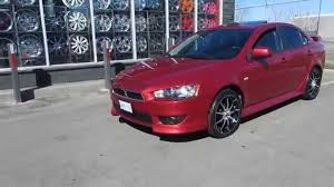 mitsubishi lancer gts jdm hillyard wheels 2011 mitsubishi lancer gt riding on 18 inch