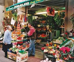Flower Shops by French Shops In France The Fruit Table In The Markets Of Nice
