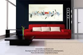 tableau d馗oration chambre décoration grand format
