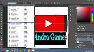 Corbel Bold Logo Para Andro Games Youtube