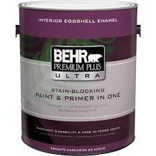 home depot interior paint color chart behr premium plus ultra 1 gal ultra white eggshell enamel