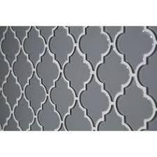 Cutting Glass Tiles For Backsplash by Valentino Quatrefoil Glass Mosaic Basement Ideas Pinterest