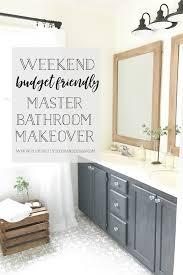 plum prettyweekend budget friendly master bathroom makeover with