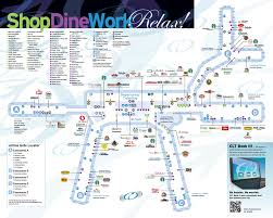 Atlanta International Airport Map by Charlotte Douglas International Airport Map