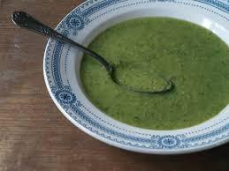 cuisiner poivrons verts gaspacho de courgette et de poivron vert sainbiosis