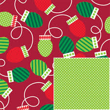 reversible christmas wrapping paper christmas bulbs reversible gift wrap innisbrook wrapping paper