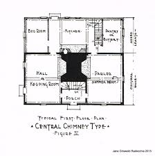 center colonial floor plan house center colonial house plans