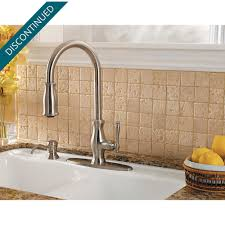 Kitchen Faucets Stainless Steel Stainless Steel Hanover 1 Handle Pull Down Kitchen Faucet F 529