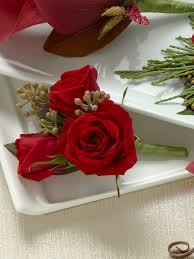 Rose Boutonniere Red Spray Rose Boutonniere From Flowers Ie