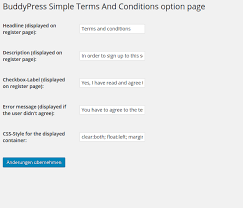 buddypress simple terms and conditions u2014 wordpress plugins