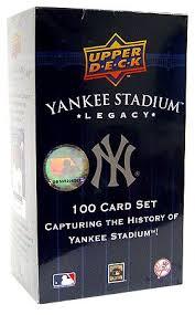 deck mlb new york yankees yankee stadium legacy