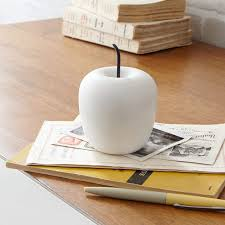 apple home decor accessories marble apple west elm