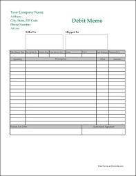 debit memo templates memberpro co